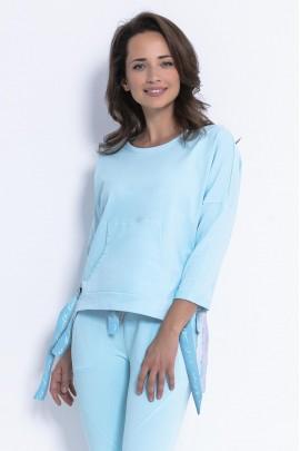 Блуза Fobya F873 св-голубой
