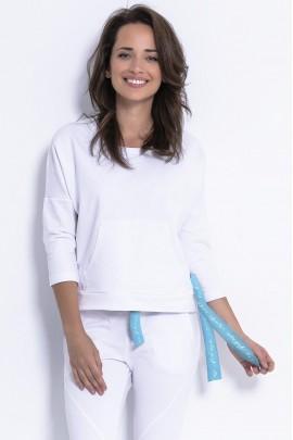 Блуза Fobya F873 белый
