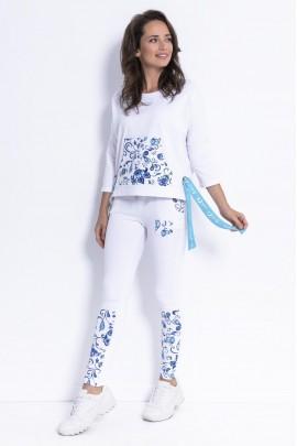 Блуза Fobya F871 белый