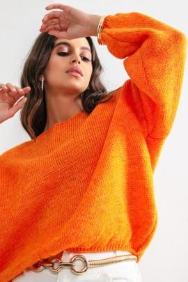 Джемпер Fobya F1159 orange