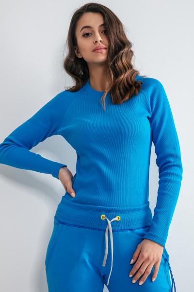 Блуза Fobya F1168 blue