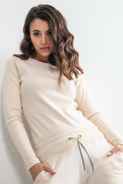 Блуза Fobya F1168 ecru