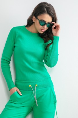 Блуза Fobya F1168 green
