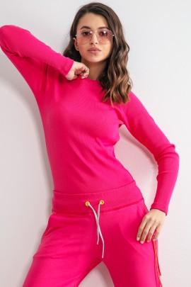 Блуза Fobya F1168 pink