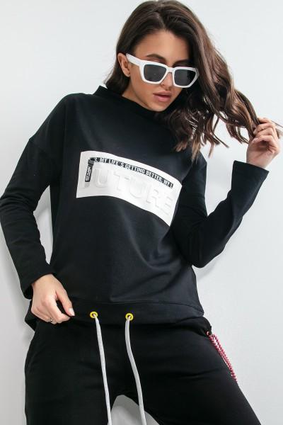 Блуза Fobya F1170 black