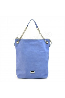 GREGORIO POL-AGA-19017 синий сумка жен. эко-кожа