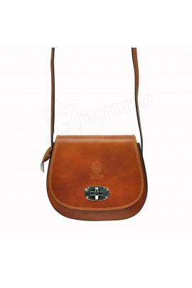 GREGORIO 117 коричн. сумка жен. кожа