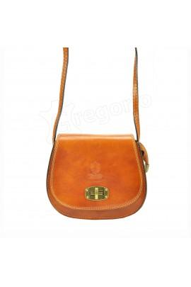 GREGORIO 117 кэмел сумка жен. кожа