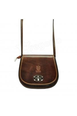 GREGORIO 117 т.коричн сумка жен. кожа