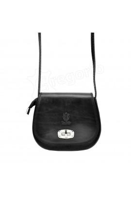 GREGORIO 117 чёрный сумка жен. кожа