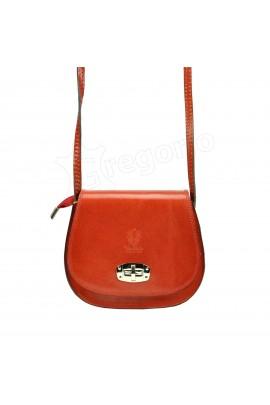 GREGORIO 117 красный сумка жен. кожа