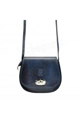GREGORIO 117 т.синий сумка жен. кожа