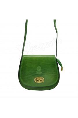 GREGORIO 117 зелёный сумка жен. кожа