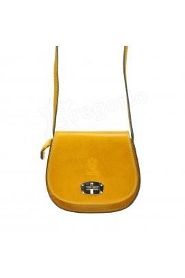 GREGORIO 117 жёлтый сумка жен. кожа