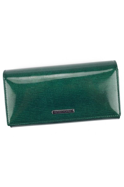 GREGORIO LN-102 зелёный кошелёк жен.