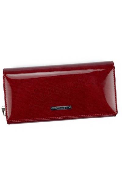 GREGORIO LN-106 красный кошелёк жен.