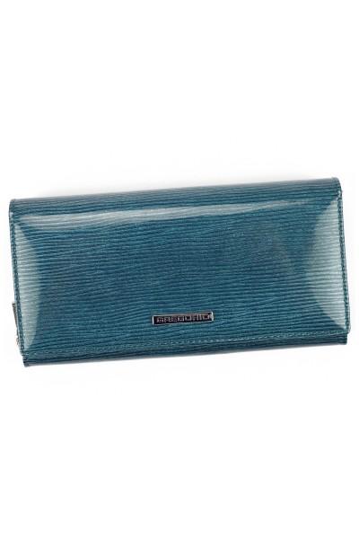 GREGORIO LN-106 синий кошелёк жен.