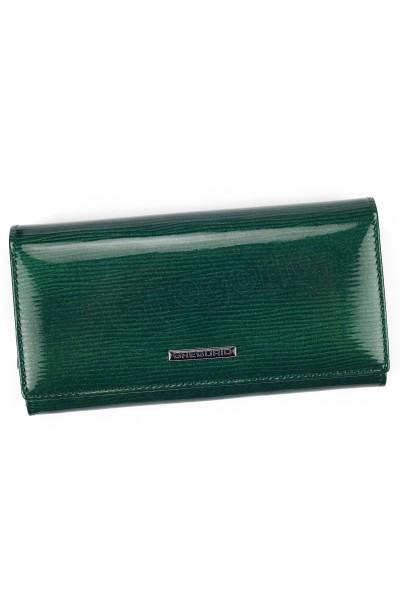 GREGORIO LN-106 зелёный кошелёк жен.