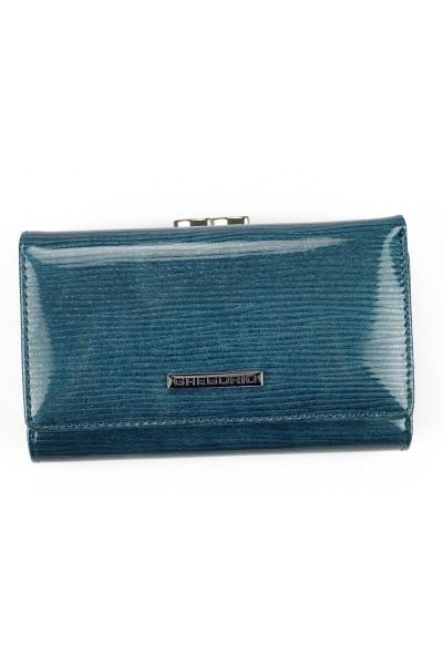 GREGORIO LN-108 синий кошелёк жен.