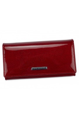 GREGORIO LN-107 красный кошелёк жен.