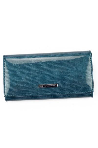 GREGORIO LN-107 синий кошелёк жен.