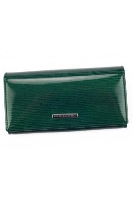 GREGORIO LN-107 зелёный кошелёк жен.