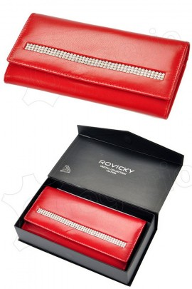 Rovicky кошелёк жен. CPR-015-CRY-BAR красный