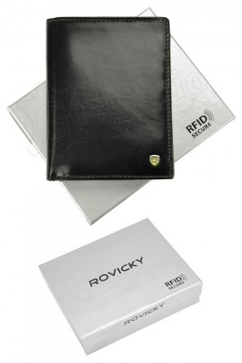 Rovicky кошелёк муж. N4-RVT RFID чёрный