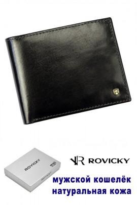 Rovicky кошелёк муж. N61-RVT RFID чёрный