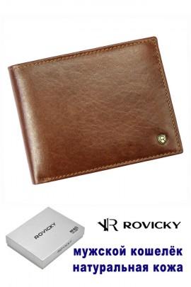 Rovicky кошелёк муж. N61-RVT RFID коричн