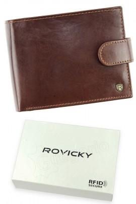 Rovicky кошелёк муж. N992L-RVT RFID коричн