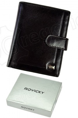 Rovicky кошелёк муж. PC-105L-BAR чёрный