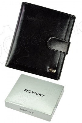Rovicky кошелёк муж. PC-106L-BAR чёрный