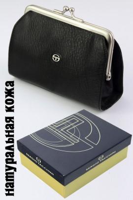 Sergio Tacchini K23 066 P453 чёрный кошелёк