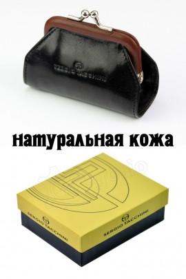 Sergio Tacchini K23 094 P435 чёрн-тём-корич кошелёк