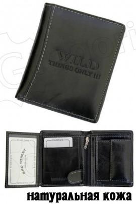 WILD Things Only 5505 чёрный портмоне