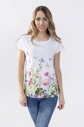 Блуза Hajdan BL 1040 цвет 24-белый