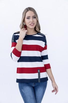 Блуза Hajdan BL 1068 красный