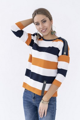 Блуза Hajdan BL 1068 оранж