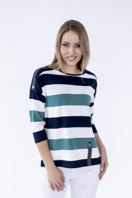 Блуза Hajdan BL 1068 зелёный