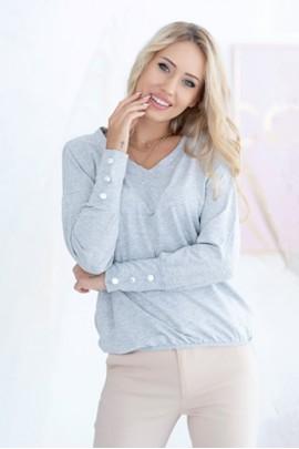 Блуза Hajdan 1142 серый