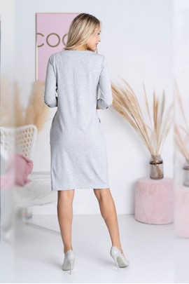 Платье Hajdan SUK 007 серый