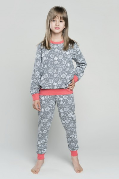Пижама OLIA 6-10 лет д/дев меланж