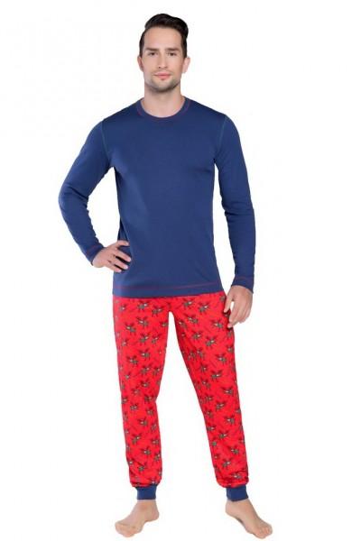 Пижама RUDOLF дл.дл. синий