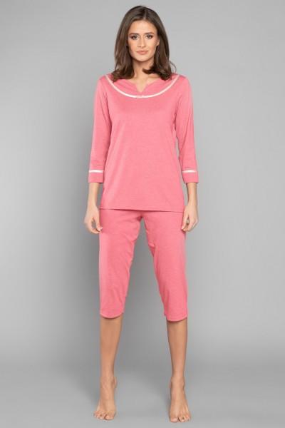 Пижама SABINA жен. малина
