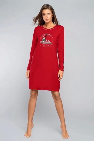 Сорочка KATIA жен. красный