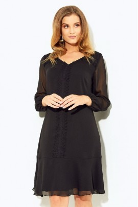 Платье KASKADA Istria чёрный