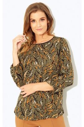 Блузка KASKADA Melsa оливка