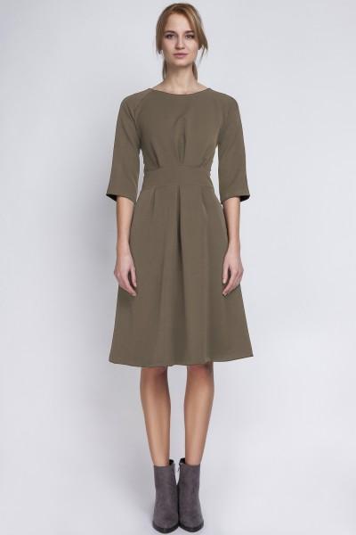 Платье SUK122 хаки