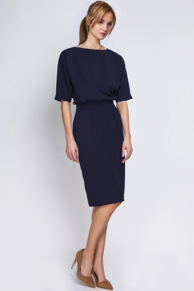 Платье SUK123 тёмно-синий